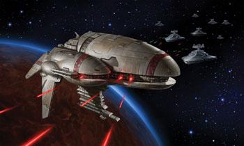 Ostrzał laserowy fregaty